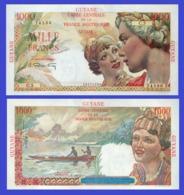 French Guiana 1000  Francs 1947  - REPLICA --  REPRODUCTION - Guyane Française