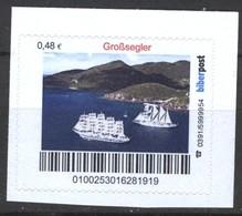 Biber Post Großsegler (48)  G422 - BRD