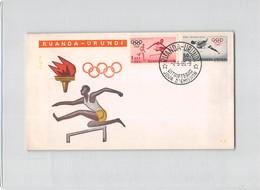 15446 FDC RUANDA URUNDI  - PRO JUVENTUTE - Stamps
