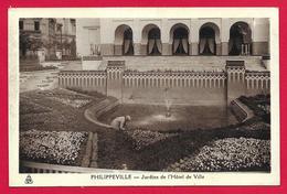 CPA Algérie - Skikda - Philippeville - Jardins De L'Hôtel De Ville - Skikda (Philippeville)