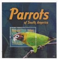 Guyana 2015 Birds Parrots S/S MNH - Guyana (1966-...)