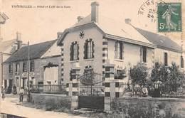 FAVEROLLES - Hôtel Et Café De La Gare - France