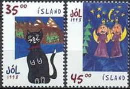 IJsland 1998 Kerstzegels Serie PF-MNH - 1944-... Republic