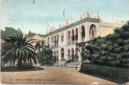 ALGER - Palis D' Eté Du Gouvernement - Cachet Perlé  St Denis En Bugey (Ain)     (108944) - Alger