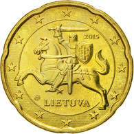 Monnaie, Lithuania, 20 Euro Cent, 2015, SPL, Laiton - Lituanie