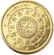 Portugal 2018      10 Cent     UNC Uit De BU  UNC Du Coffret  !! Zeer Zeldzaam -  Extreme Rare !!!! - Portugal