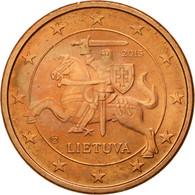 Monnaie, Lithuania, Euro Cent, 2015, SPL, Copper Plated Steel - Lituanie