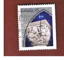CANADA   -  SG 1668  - 1995 CHRISTMAS: NATIVITY       - USATI  (USED)° - 1952-.... Regno Di Elizabeth II
