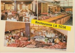 18 / 8 / 197 - MADRID  - RESTAURANTE. LA  TOJA.  - CPM - Madrid