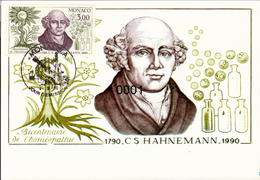1739 Decouverte Homéopathie 04/09/1990 - Maximumkarten (MC)