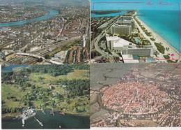 50 Cartes---vues Aeriennes----divers Pays Sauf France - Cartes Postales
