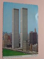 TWIN TOWERS Of The WORLD TRADE CENTER ( Manhattan / Dexter ) Anno 1981 ( Zie Foto Voor Details ) ! - World Trade Center