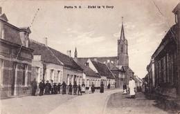 PUTTE GRENS NL - BE 1916 ZICHT IN 'T DORP - MOOIE ANIMATIE - BIJ KAPELLEN - Kapellen