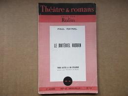 Le Matériel Humain (Paul Reynal)  N° 13 - Theatre