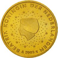 Pays-Bas, 50 Euro Cent, 2003, FDC, Laiton, KM:239 - Pays-Bas