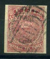 FIDJI (  POSTE ) : Y&T  N°  11   TIMBRE  OBLITERE . - Fiji (...-1970)