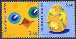 Finland 2001 Pasen Serie PF-MNH-NEUF - Finlande