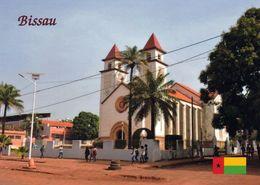 1 AK Guinea Bissau * Kathedrale Unserer Jungfrau Von Candelaria In Bissau Der Hauptstadt Des Landes - Guinea-Bissau
