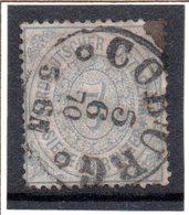 Norddeutscher Postbezirk, Mi-Nr. 22,  7Kr Hell- Bis Lebh'graublau, Gestempelt - Norddeutscher Postbezirk