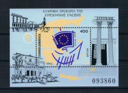 Griechenland 1993 Europs Block 11 ** - Greece