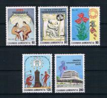 Griechenland 1992 Gesundheit Mi.Nr. 1797/801 Kpl. Satz ** - Greece