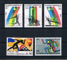 Griechenland 1992 Olympia Mi.Nr. 1792/96 Kpl. Satz ** - Grecia
