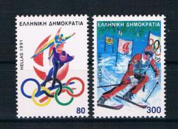 Griechenland 1991 Olympia Mi.Nr. 1788/89 Kpl. Satz ** - Greece