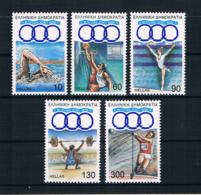 Griechenland 1991 Sport Mi.Nr. 1781/85 Kpl. Satz ** - Greece