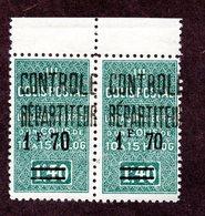 Algérie Colis Postaux N°42a Tenant à Normal N** LUXE  Cote 36 Euros !!!RARE - Algérie (1924-1962)