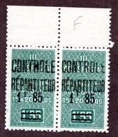 Algérie Colis Postaux N°43c Tenant à Normal N** LUXE  Cote 36 Euros !!!RARE - Algérie (1924-1962)