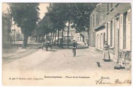 Brecht - Gemeenteplaats 1906  (Geanimeerd) - Brecht