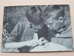 CHIROBIVAK ' T Is Knap Beste Groeten Alles OK ( Chiro ) Anno 1962 ( Zie Foto's ) ! - Scouting