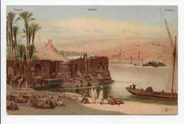 C. Weiner - Assuan- Undivided Back - Aswan