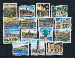 Griechenland 1990 Städte Mi.Nr. 1749/63 A Kpl. Satz ** - Greece