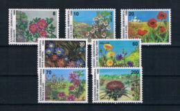 Griechenland 1989 Blumen Mi.Nr. 1731/37 Kpl. Satz ** - Griechenland