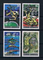 Griechenland 1989 Olympia Mi.Nr. 1717/20 A Kpl. Satz ** - Griechenland