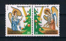 Griechenland 1987 Weihnachten Mi.Nr. 1678/79 Kpl. Satz ** - Griechenland