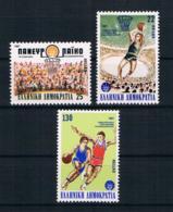 Griechenland 1987 Sport Mi.Nr. 1653/55 Kpl. Satz ** - Griechenland