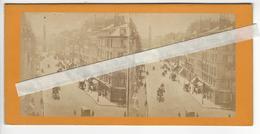 PHOTO STEREO Circa 1860 1870 PARIS RUE DE LA PAIX /FREE SHIPPING REGISTERED - Stereoscopic