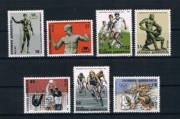 Griechenland 1986 Sport Mi.Nr. 1620/26 Kpl. Satz ** - Griechenland