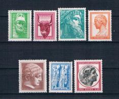 Griechenland 1958  Kunst Mi.Nr. 689/95 Kpl. Satz ** - Grèce