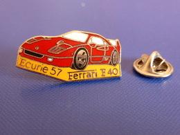 Pin's Voiture Ferrari F40 - Ecurie 57 - Moselle (JD47) - Ferrari