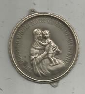 Médaille , THE BLESSED VIRGIN MARY QUEEN OF IRELAND ,2 Scans ,diamètre 7.5 Cms - Monarquía / Nobleza