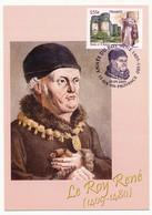 FRANCE - Carte Maximum - 0,55 René Ier D'Anjou - Oblit AIX EN PROVENCE 19.09.2009 (Année Du Roy René) - 2000-09