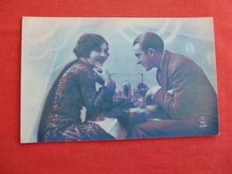 RPPC   Color  Couple  Paris Photo   Ref 3038 - Couples