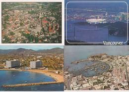 50 Cartes---vues Aeriennes Divers Pays Sauf France - Cartes Postales