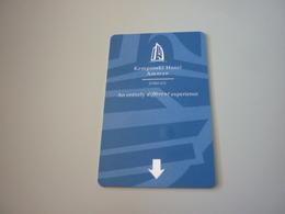 Jordan Amman Kempinski Hotel Room Key Card (Lufthansa Airlines) - Cartes D'hotel