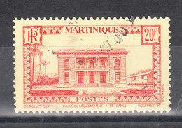 MARTINIQUE YT 154  Oblitéré - Oblitérés