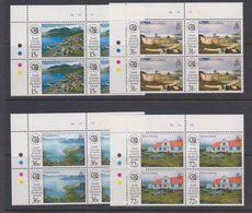 South Georgia 1993 Whaling Museum 4v Bl Of 4 (corner)  ** Mnh (40121A) - Zuid-Georgia