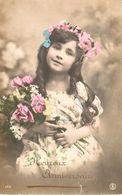Thèmes - Fantaisies - Enfant - Portrait - Fillette - Heureux Anniversaire - Portraits